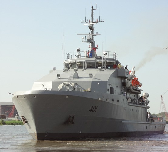 Two 60 metre Offshore Patrol Vessels - Riverhawk Fast Sea Frames (US)